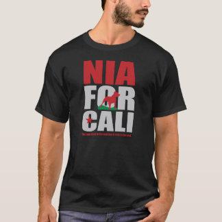 NIA FOR CALI - Black T-Shirt