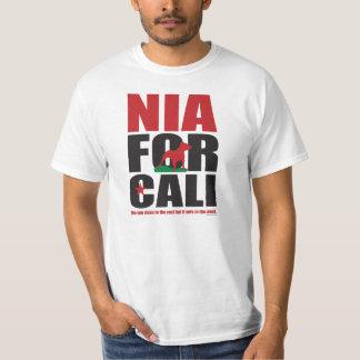 NIA FOR CALI T-Shirt