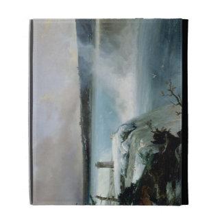 Niagara Falls, c.1837-40 (oil on canvas) iPad Folio Cases
