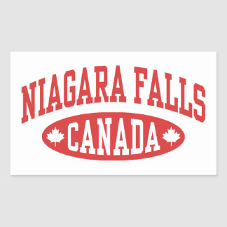 Niagara Falls Canada Rectangular Sticker