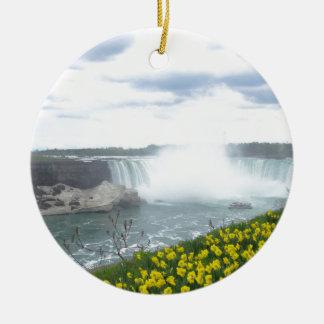 Niagara Falls Canadian Side Ceramic Ornament
