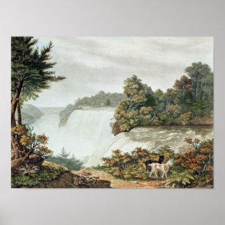 Niagara Falls, from Goat Island Poster