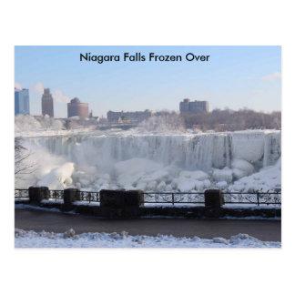 Niagara Falls Frozen Over Postcard