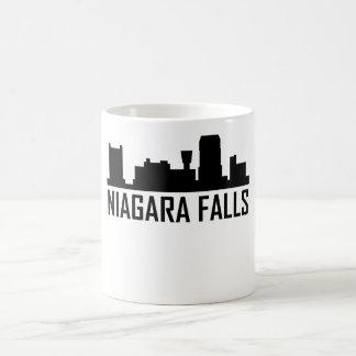 Niagara Falls New York City Skyline Coffee Mug