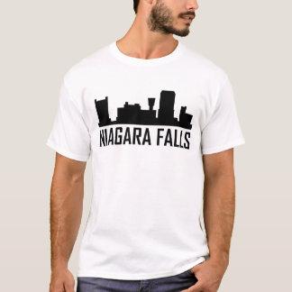 Niagara Falls New York City Skyline T-Shirt