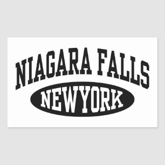 Niagara Falls New York Rectangular Sticker
