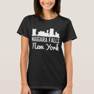 Niagara Falls New York Skyline T-Shirt