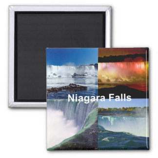 Niagara Falls New York Square Magnet
