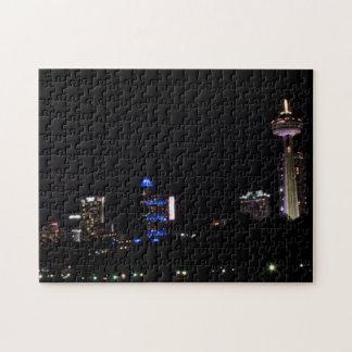 Niagara Falls Nightscape Puzzle