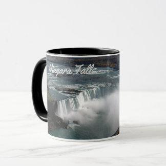 Niagara Falls on a coffee mug