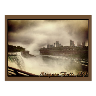 Niagara Falls on a Dreary Day Postcard