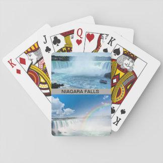 Niagara Falls on Playing Cards