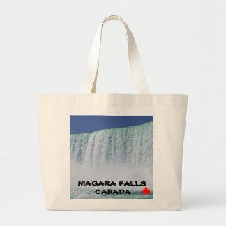 NIAGARA FALLS ONTARIO CANADA LARGE TOTE BAG