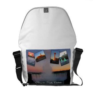 Niagara Falls Photo Collage Messenger Bags