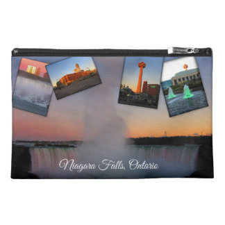 Niagara Falls Photo Collage Travel Accessory Bag