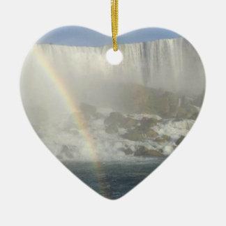 Niagara Falls Rainbow Christmas Ornament