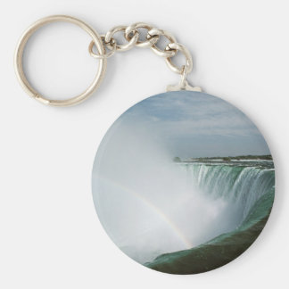 Niagara Falls Rainbow Key Ring