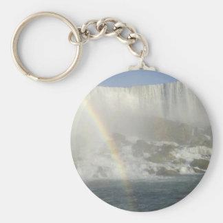 Niagara Falls Rainbow Key Ring