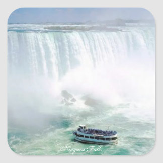 Niagara Falls,Square Sticker