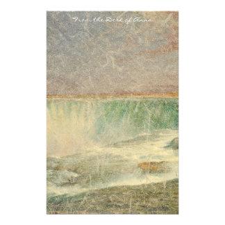 Niagara Falls Waterfall Personalized Stationery