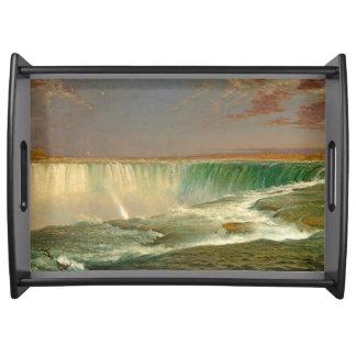 Niagara Falls Waterfall River Serving Tray