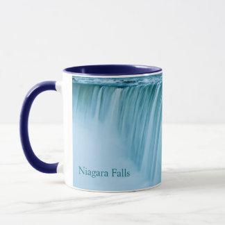 Niagara Falls with text Mug