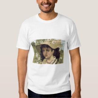 Niagara Gloss Starch Girl WIth Hat Tee Shirt