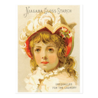 Niagara Gloss Starch Postcard