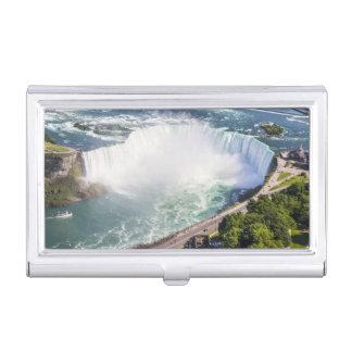 Niagara Horseshoe Falls waterfall Canada Business Card Holder