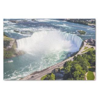 Niagara Horseshoe Falls waterfall Canada Tissue Paper