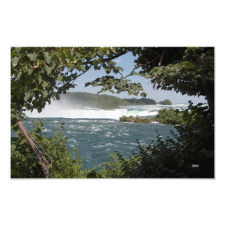 Niagara River before the Falls Photo Print