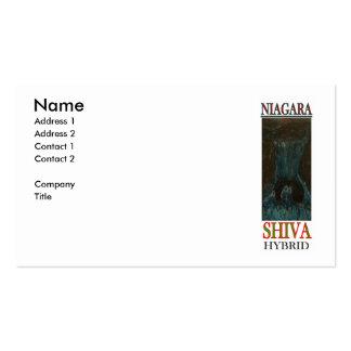 NIAGARA SHIVA HYBRID BUSINESS CARDS