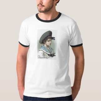 Niagara Starch Vintage Trade Card - Boy T-Shirt