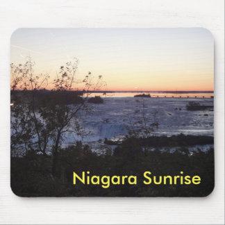 Niagara Sunrise Mousmat Mouse Pad