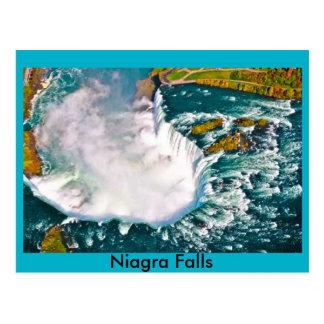 Niagra Falls Air shot post card