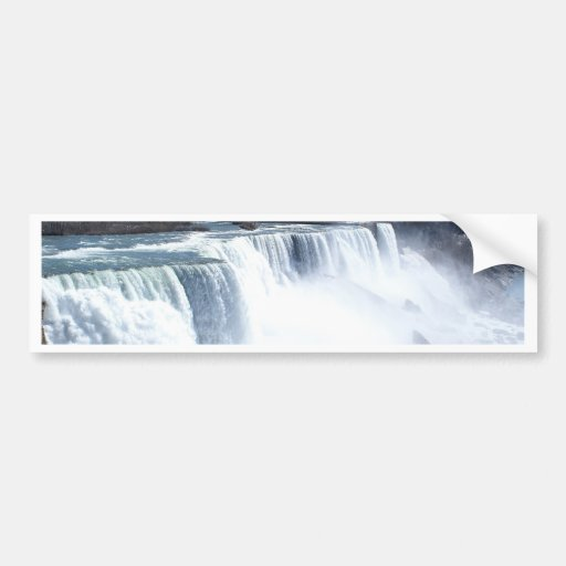 Niagra falls post cards and stickers bumper stickers