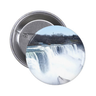 Niagra Falls products 6 Cm Round Badge