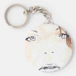 Nic PORTRAIT Basic Round Button Key Ring