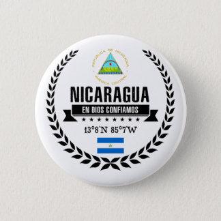 Nicaragua 6 Cm Round Badge