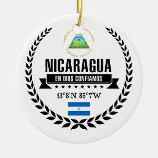 Nicaragua Ceramic Ornament