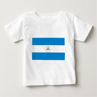 Nicaragua flag baby T-Shirt