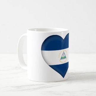 Nicaragua Flag Coffee Mug