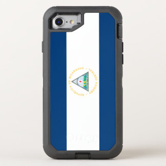 Nicaragua Flag OtterBox Defender iPhone 8/7 Case