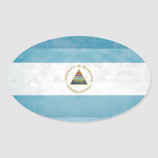 Nicaragua Flag Stickers