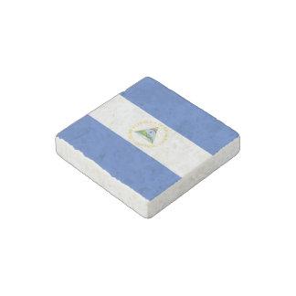 Nicaragua Flag Stone Magnet
