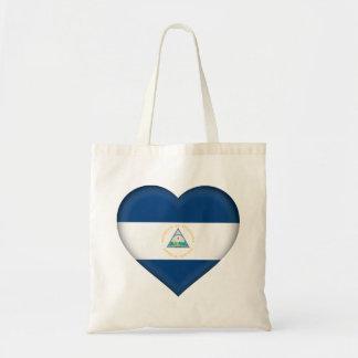 Nicaragua Flag Tote Bag