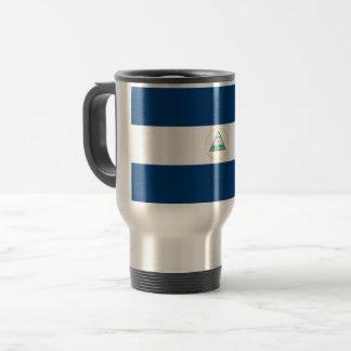 Nicaragua Flag Travel Mug