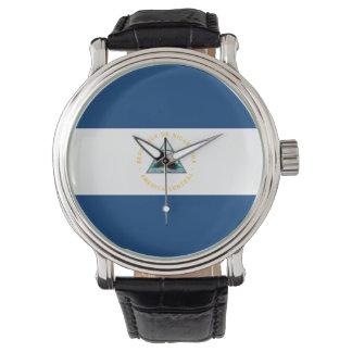 Nicaragua Flag Watch