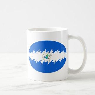 Nicaragua Gnarly Flag Mug
