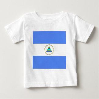 Nicaragua High quality Flag Baby T-Shirt
